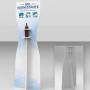 Espositore igienizzante in forex da 10 mm per flaconi DIS500ML