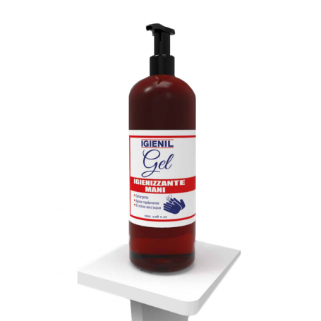 Gel liquido igienizzante mani mini flacone ML. 500 GEL500