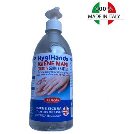 Soluzione igienizzante liquida mani 500 ml Hygihands 65% alcool