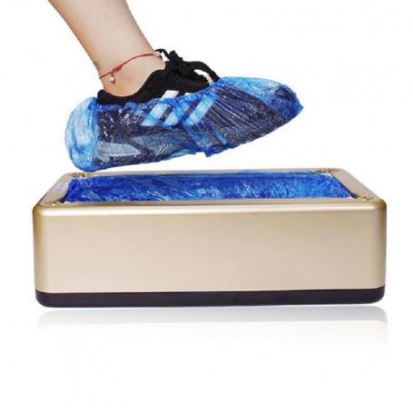 Copriscarpe automatico + 100 calzari copri scarpe distributore dispenser
