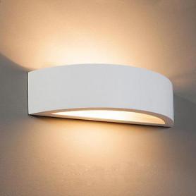 APPLIQUE-IN-GESSO-LAMPADA-A-PARETE-MODERNO-ATTACCO-E27-CON-VETRO-WALL-LIGHT-LV-172454150995