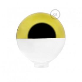 Vetro-per-lampadina-decorativa-componibile-G125-Semisfera-Oro-122557074680