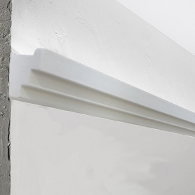 Cornice in gesso per strip led DS5012 decor luceledcom ok
