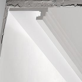 Cornice in gesso per strip led DS5013 decor luceledcom iniziale