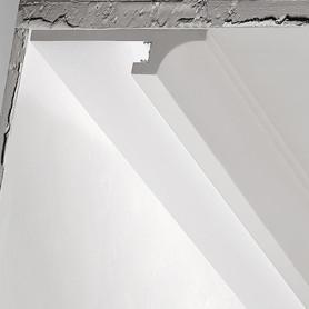 Cornice in gesso per strip led DS5015 decor luceledcom iniziale