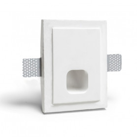 segnapassi led gesso ceramico 1215 luceledcom new