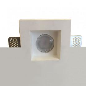 porta faretto in gesso ceramico CSF083 nuovo modello luceledcom