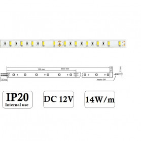 STRISCIA LED 5630 12V ip202