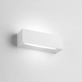 Applique da parete in gesso rettangolare Hermione T208 luceledcom
