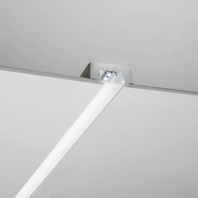 PROFILO in gesso per led TAGLIO LUCE con plexiglas luceledcom DS4016