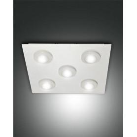 Variazione-di-LAMPADA-DA-SOFFITTO-SWAN-PLAFONIERA-LED-DA-24W-E-40W-METALLO-BIANCO-FABAS-LUCE-171883854622-8fca