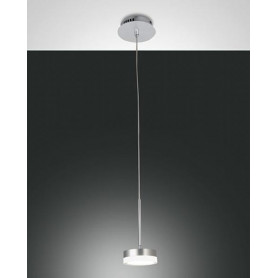 LAMPADARIO-A-SOSPENSIONE-DUNK-A-LED-DA-8W-IN-METALLO-E-METACRILATO-FABAS-LUCE-171857519190