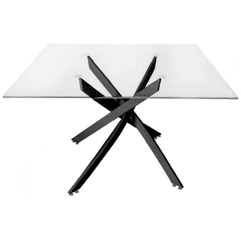 Tavolino Mini cristallo Cardinia 90 cm