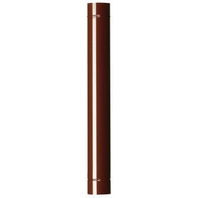 TUBO X STUFA CM.100 D.10 MARRONE