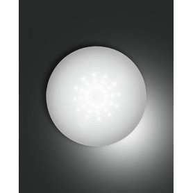LAMPADA-DA-SOFFITTO-PANDORA-PLAFONIERA-LED-13W-BIANCO-A-RIGHE-D30-FABAS-LUCE-171795993784