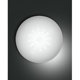 LAMPADA-DA-SOFFITTO-PANDORA-PLAFONIERA-LED-27W-BIANCO-A-RIGHE-D36-FABAS-LUCE-171795993847