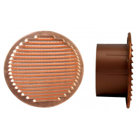 GRIGLIA AERAZ.RAME D.150 BOCC.PLAST