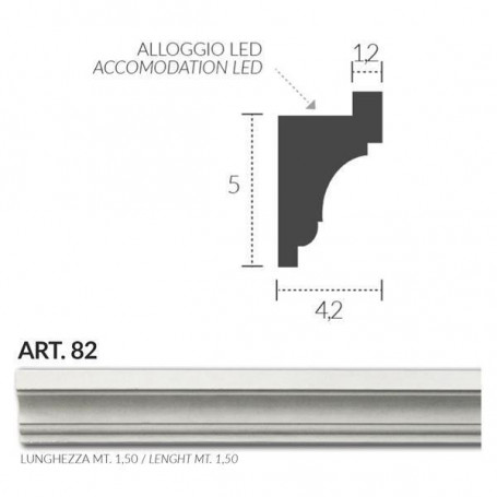 CORNICE-IN-GESSO-BOMBATA-H50-INSTALLAZIONE-A-PARETE-E-ALLOGGIO-STRIP-LED-ART82-182484299997