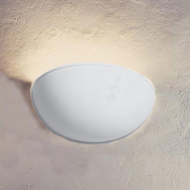 APPLIQUE-IN-GESSO-LAMPADA-PARETE-MODERNO-ATTACCO-E27-COPPA-301-WALL-LIGHT-LV-con rigo luceledcom