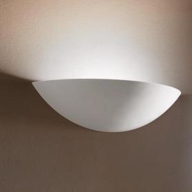 APPLIQUE-IN-GESSO-LAMPADA-PARETE-MODERNO-ATTACCO-E27-COPPA-354-WALL-LIGHT-LV-182416219807