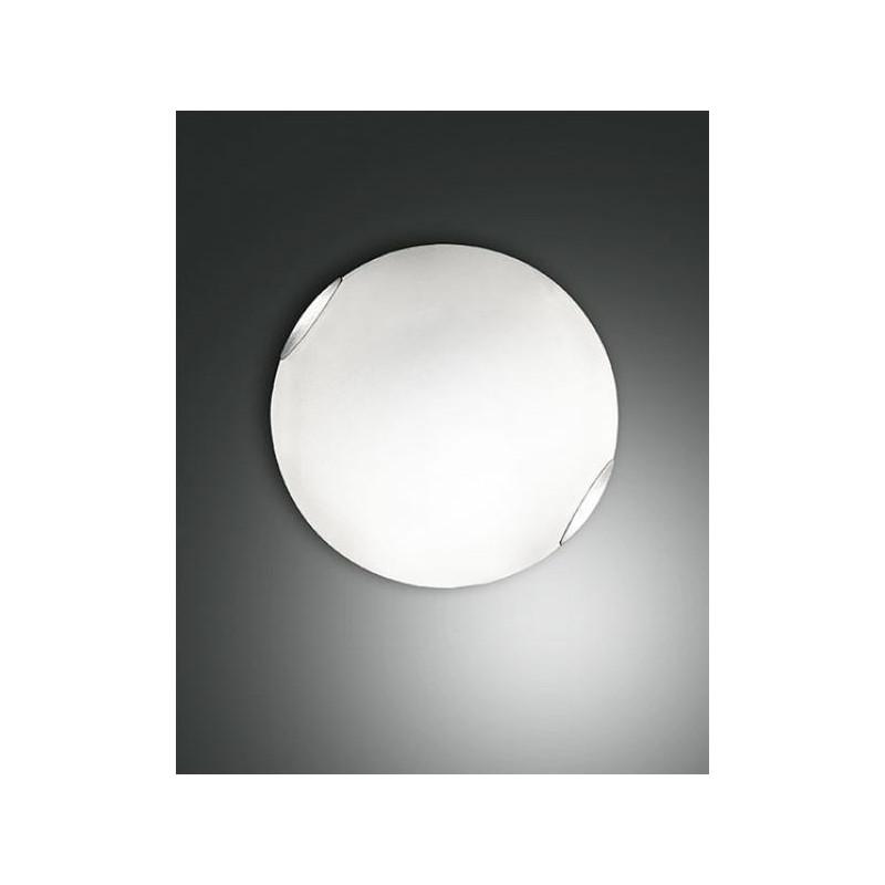Lampadari Da Soffitto Economici.Lampada Da Soffitto Fox Plafoniera Led Da 27w Con Vetro Bianco D 40