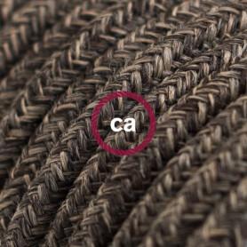 Cavo-Elettrico-rotondo-rivestito-in-Lino-Naturale-Marrone-RN04-122521526940