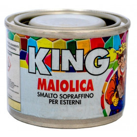 """SMALTO """"MAIOLICA"""" GRIGIO SCURO 563 GR.100"""