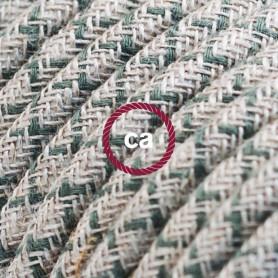 Cavo-Elettrico-rotondo-rivestito-in-Cotone-Losanga-color-Verde-Timo-e-Lino-Natur-122521561217