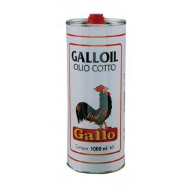 """OLIO DI LINO COTTO """"GALLO"""" DA LT.1"""