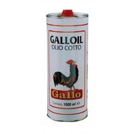"""OLIO DI LINO COTTO """"GALLO"""" DA LT.5"""
