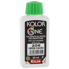 COLORANTE KOLOR ONE ML.20 N.206 VERDE CHIARO