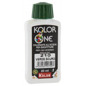 COLORANTE KOLOR ONE ML.20 N.210 VERDE SCURO