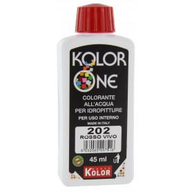 COLORANTE KOLOR ONE ML.45 N.202 ROSSO VIVO