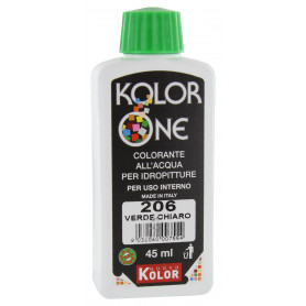 COLORANTE KOLOR ONE ML.45 N.206 VERDE CHIARO