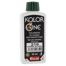 COLORANTE KOLOR ONE ML.45 N.210 VERDE SCURO