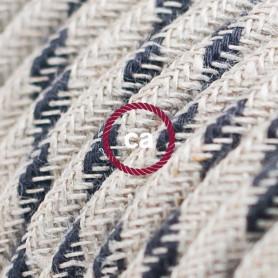 Cavo-Elettrico-rotondo-rivestito-in-Cotone-Stripes-color-Antracite-e-Lino-Natura-122521561715