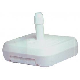 BASE OMBRELLONE PVC CM.60X60 TUBO DIAM.32-50