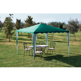 GAZEBO IN POLIESTERE MT.3X3 VERDE