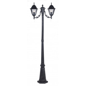 "LAMPIONE ""NEW YORK"" H CM.200 A 2 LUCI GRIGIO"