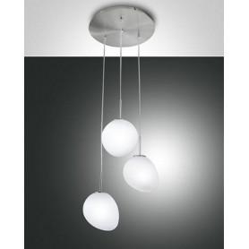 Variazione-di-LAMPADARIO-A-SOSPENSIONE-EVO-A-LED-DA-6W-E-18W-IN-METALLO-E-VETRO-FABAS-LUCE-171868661926-a8e4