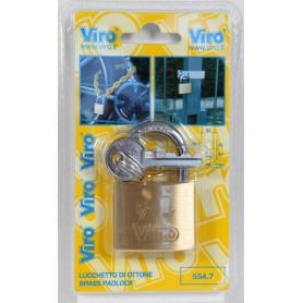 VIRO BL ART. 554.7 LUCCHETTO RETT. MM.40