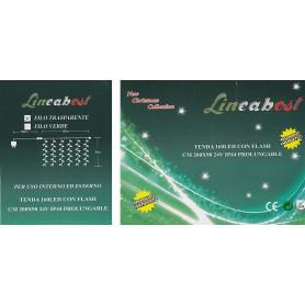 TENDA 160 LED BIANCO + FLASH X ESTERNO