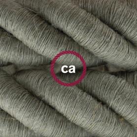 Cordone-3XL-cavo-elettrico-3x075-Rivestimento-in-lino-naturale-Diametro-30mm-122521574167