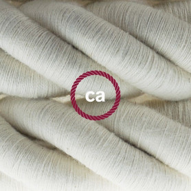 Cordone-3XL-cavo-elettrico-3x075-Rivestimento-in-cotone-grezzo-Diametro-30mm-122521574263