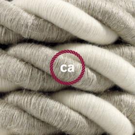 Cordone-2XL-cavo-elettrico-3x075-Rivestimento-in-lino-naturale-e-cotone-grezz-122521577720