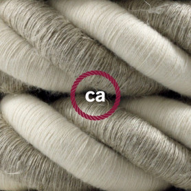 Cordone-3XL-cavo-elettrico-3x075-Rivestimento-in-lino-naturale-e-cotone-grezz-122521578036
