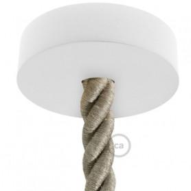 Kit-rosone-in-legno-verniciato-bianco-a-soffitto-per-cordone-2XL-completo-di-ac-122521685812