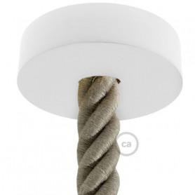 Kit-rosone-in-legno-verniciato-bianco-a-soffitto-per-cordone-3XL-completo-di-acc-122521686796