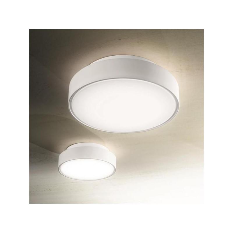Lampade Da Esterno Plastica.Lampada Da Soffitto Hatton Plafoniera Led 27w Ip65 Struttura Plasti