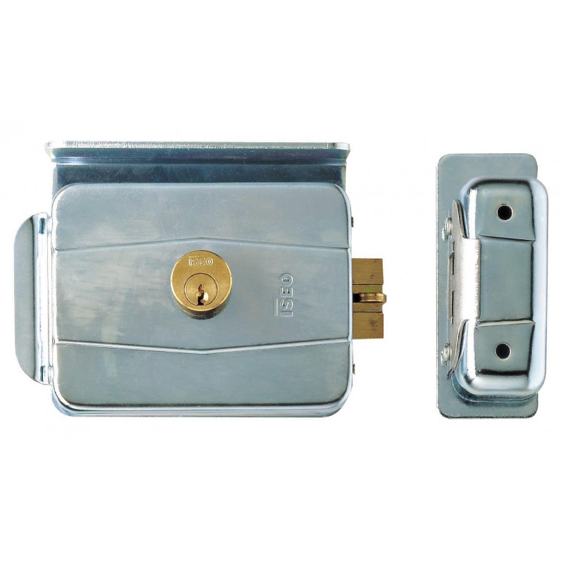 Iseo 752.15.2 serratura verticale per profilati con cilindro entrata 15mm